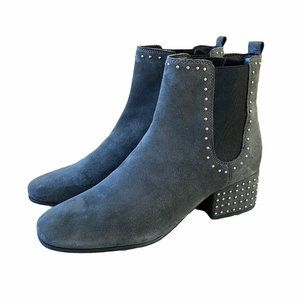 Marc Fisher Tango Studded Suede Chelsea Boots, 8